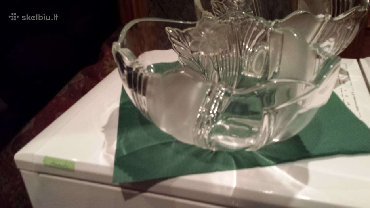 Vaza -stiklas -lekste Dulevo