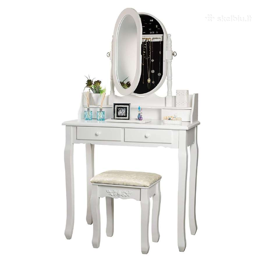 Kosmetinis tualetinis staliukas Akcija!
