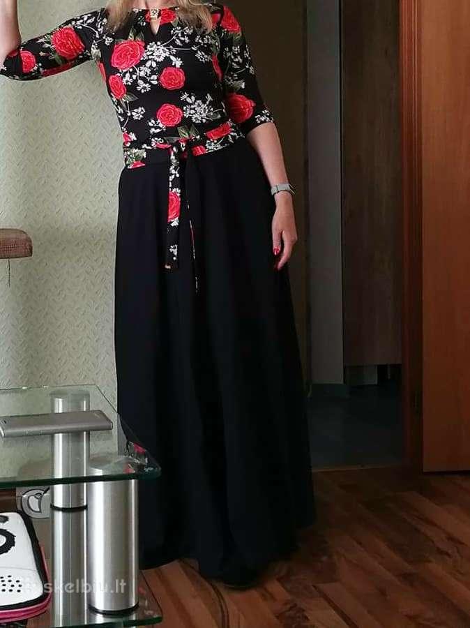 Moteriška ilga suknele
