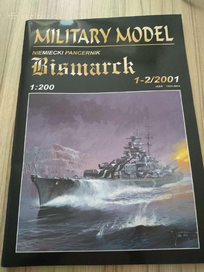Kartoninis modelis Bismarck