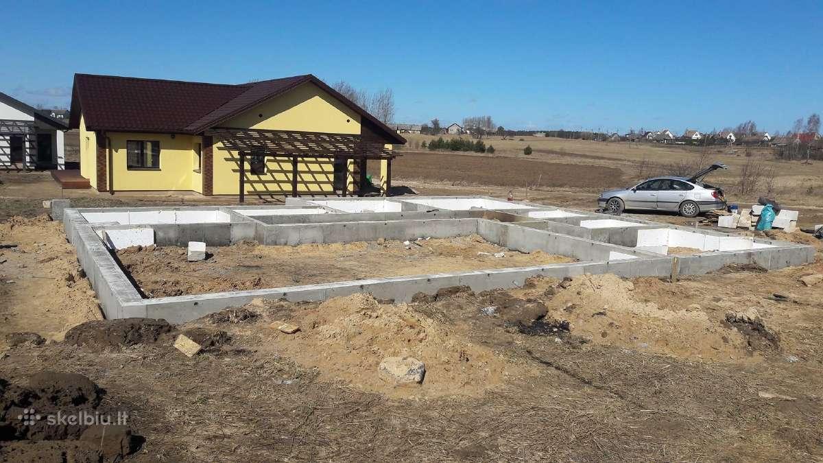 Pamatai,tvoros ir visi betonavimo darbai. Cfa.