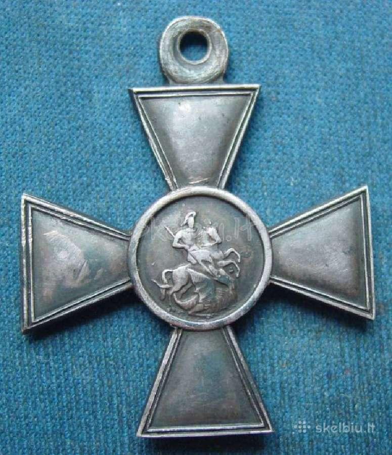 Brangiai perku šv. georgijaus kryžius ir medalius