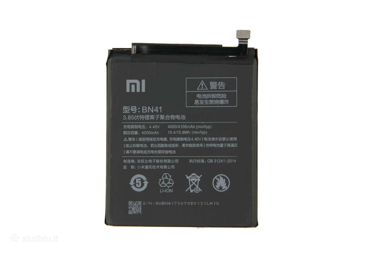 Xiaomi Redmi Note 4 originali baterija