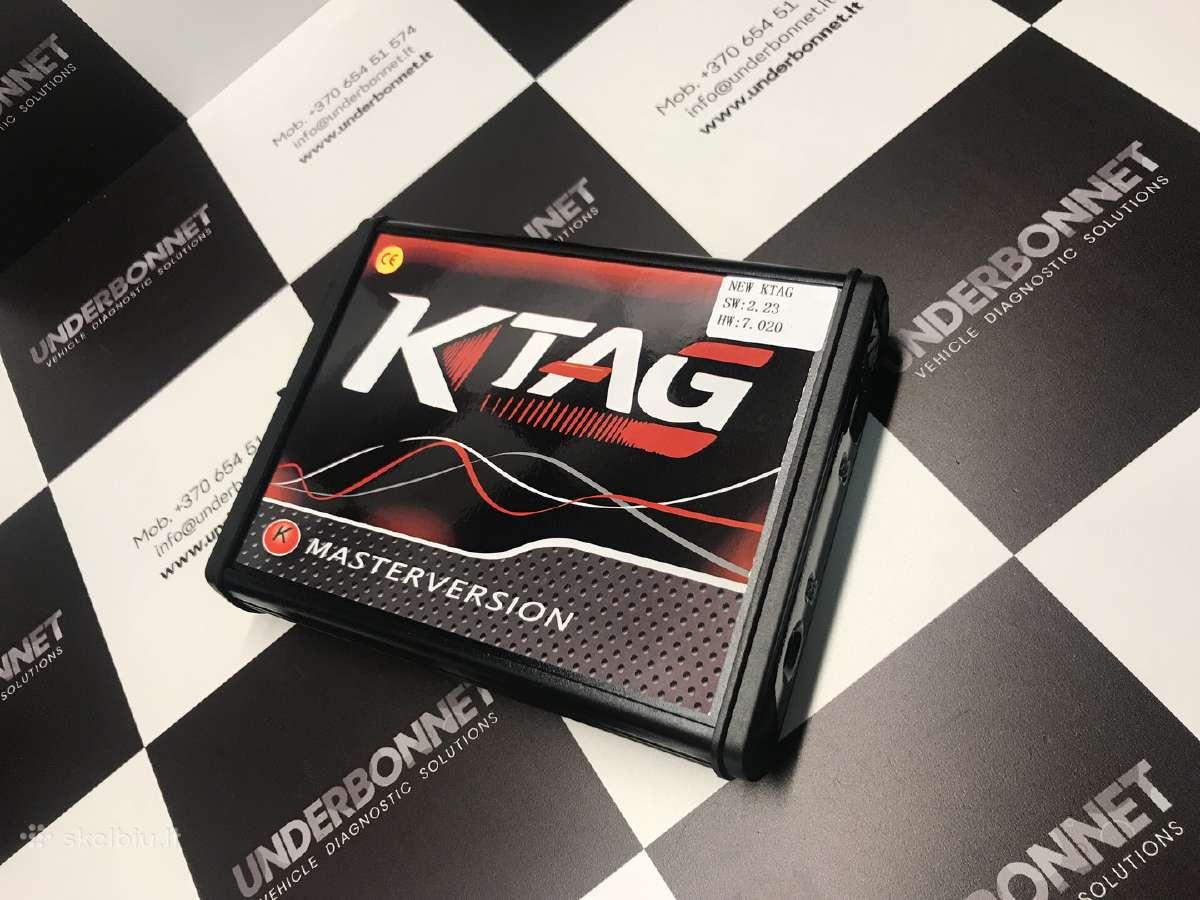 Ktag 7.020 - Chip tuning įranga. Sask.f garantijos
