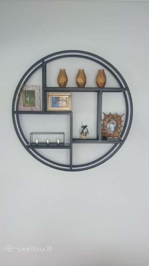 Minimalistinio stiliaus lentyna