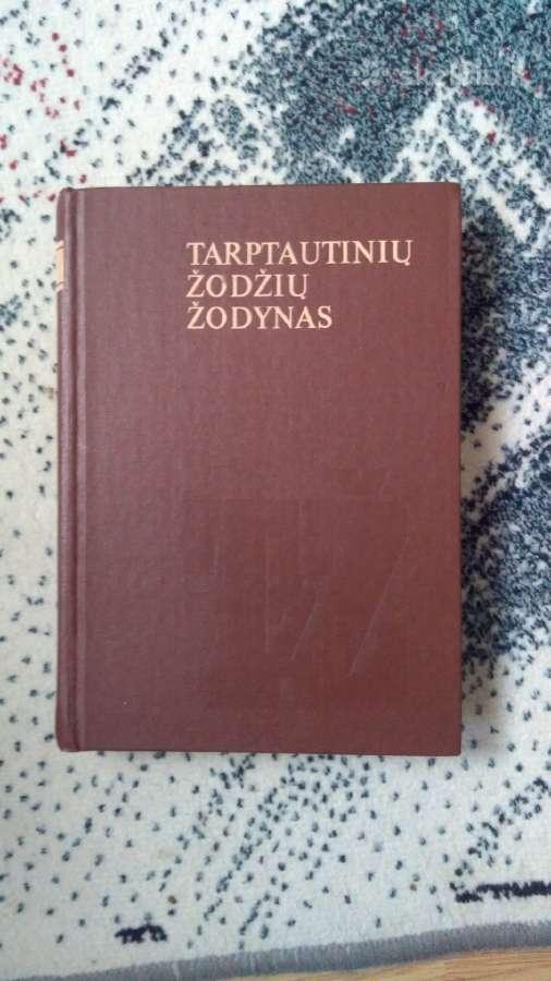 Parduodu tarptautinių žodžių žodyną