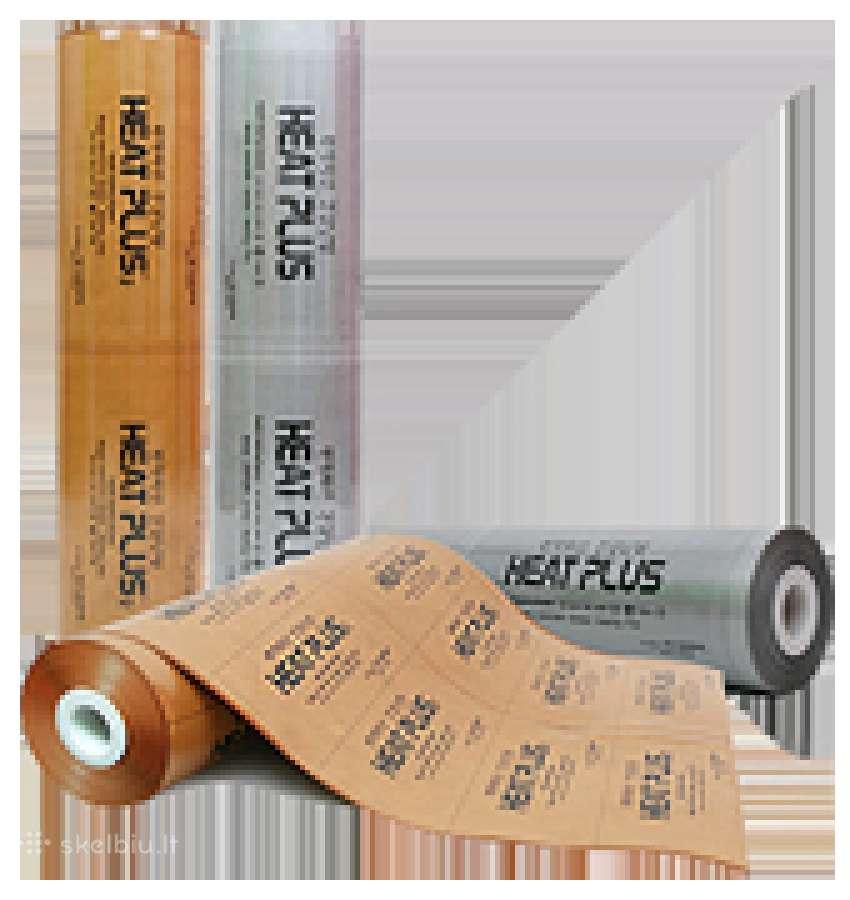 Heat plus grindų šildymo plėvelė.