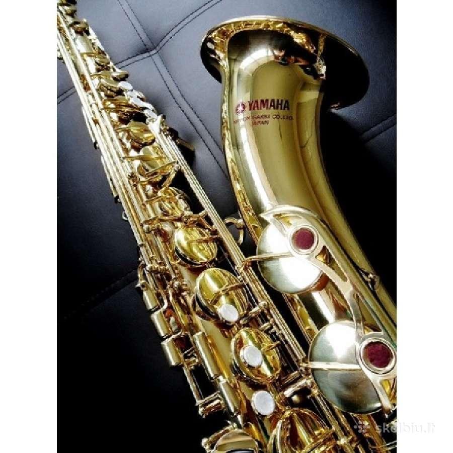 Saksofonai altai, tenorai, sopranai. visiems