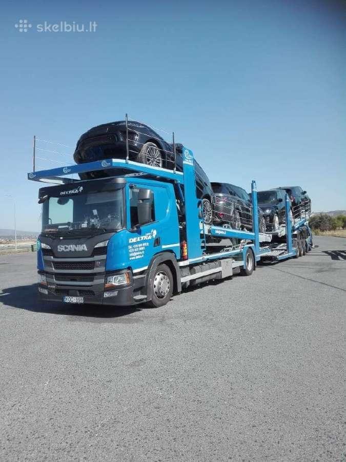 Vezame i Ispanija automobilius
