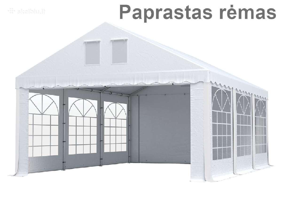Parduodu sodo palapinę paviljoną Pvc 500g/m2