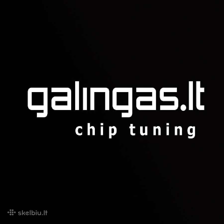 Galingas Lt: profesionalus chip tiuningas Vilniuje