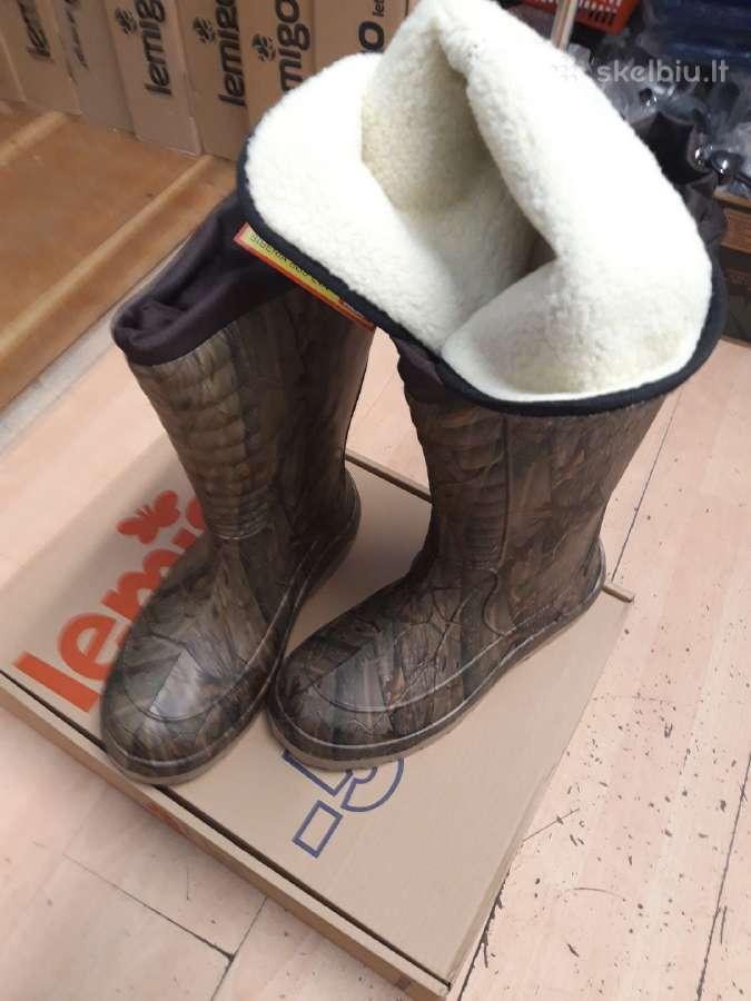 Šilčiausi batai pasaulyja -50c Siberia New Modelis