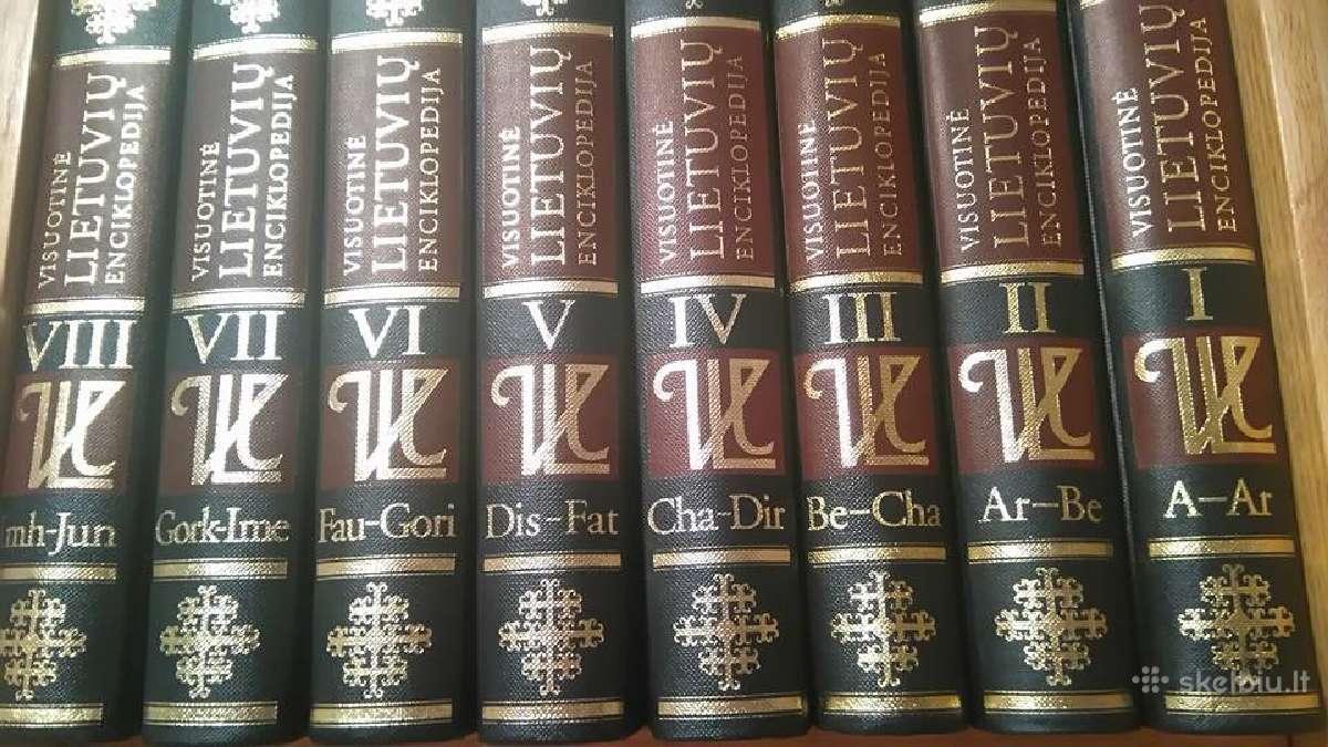 Parduodama Visuotinė Lietuvių enciklopedija I - Xi
