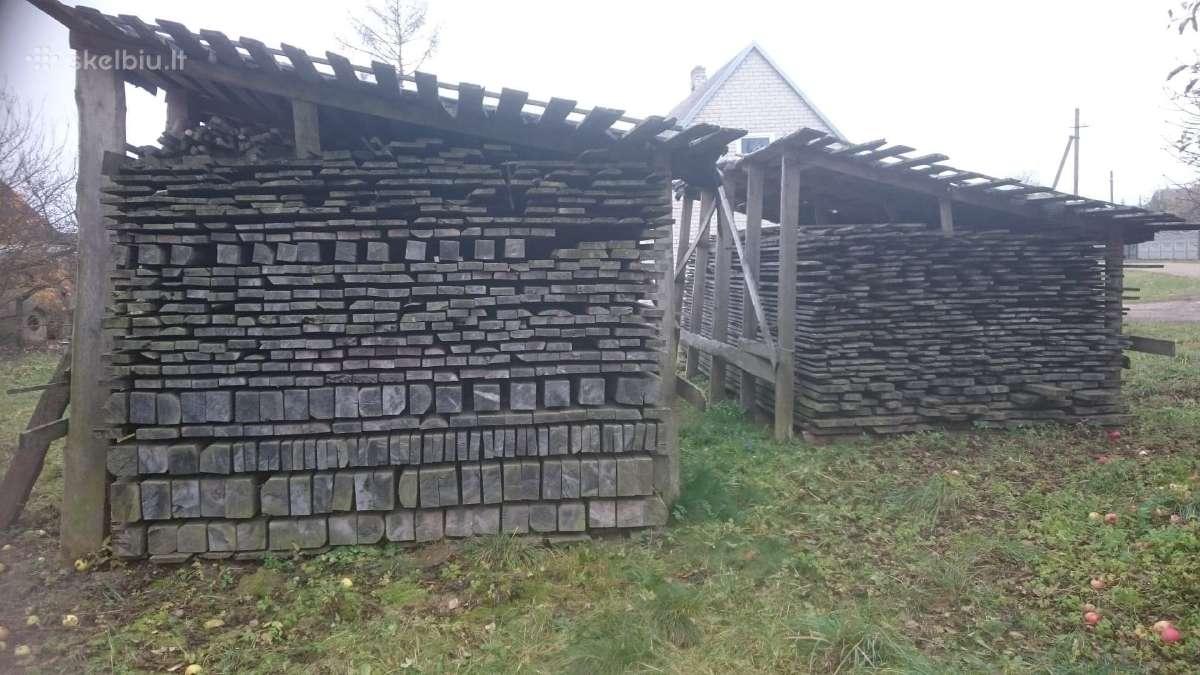 Pigiai išlaikyta mediena (eglė), 55 m3, 130 Eur/m3