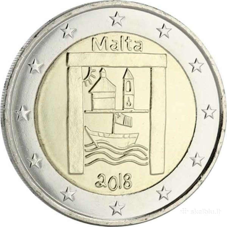 Malta 2 eurai 2018 Kultūros paveldas