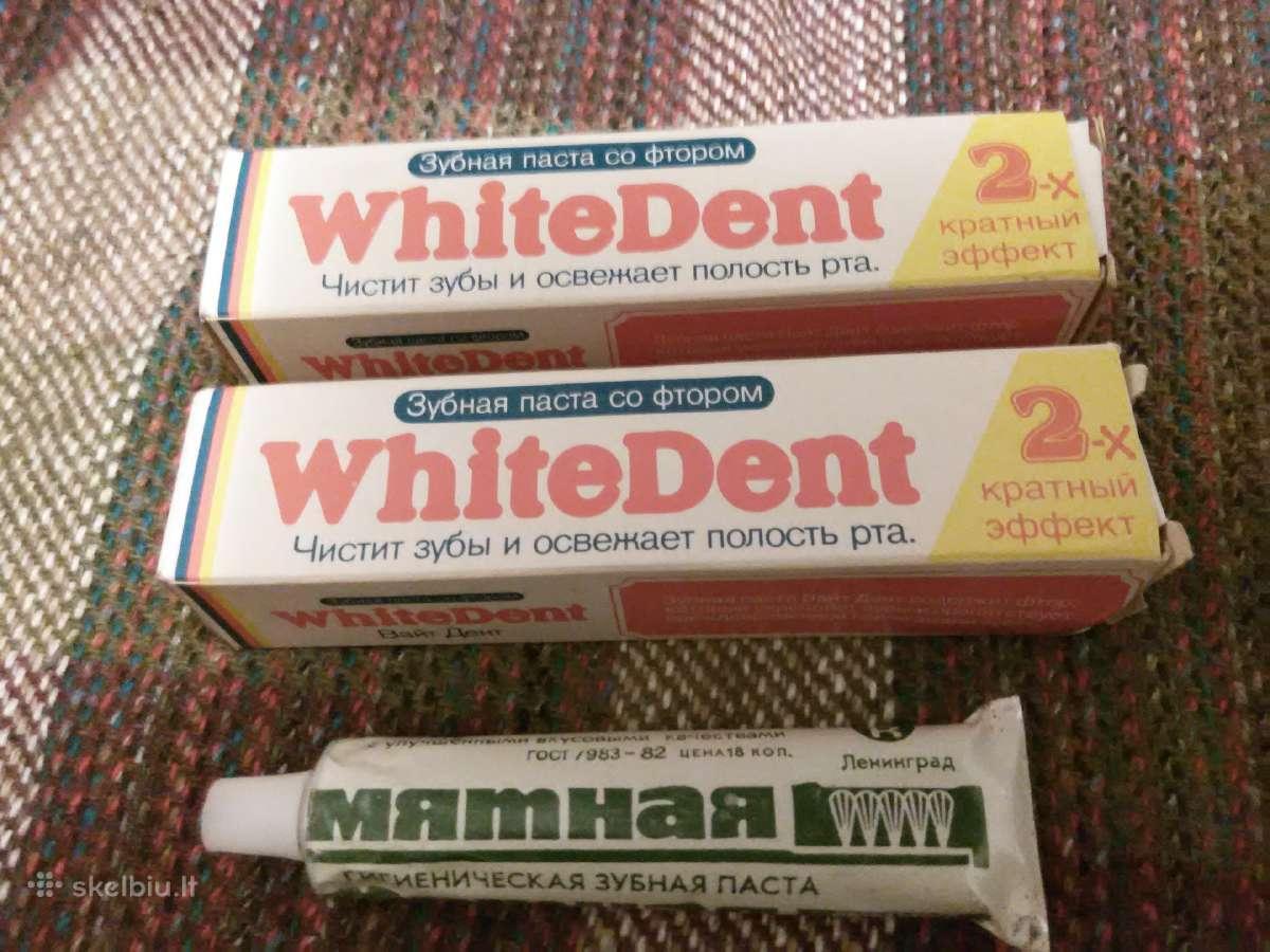 Dantų pasta tarybinė