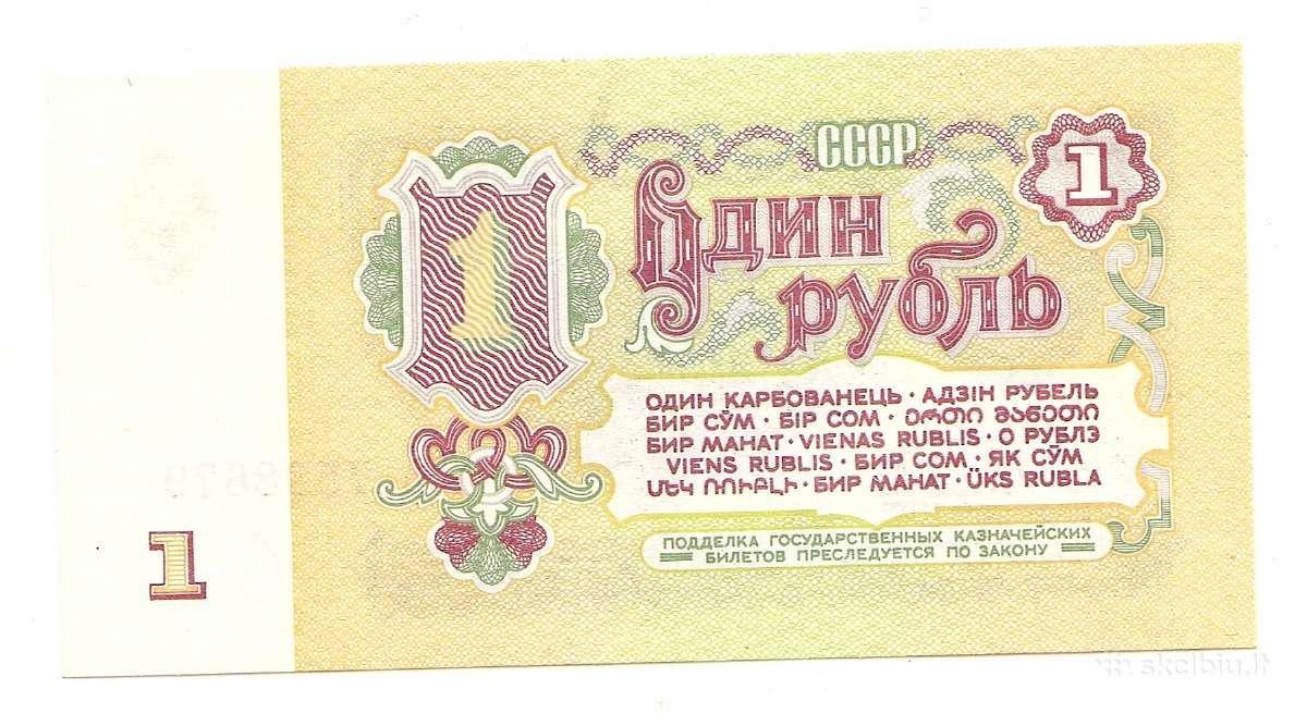 TSRS rubliai