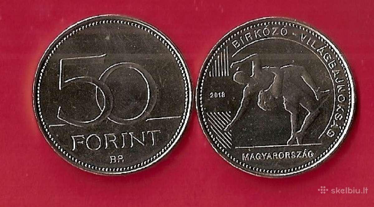 "Vengrija 2018m. 50forint ""imtinės Unc"