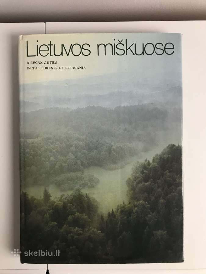 """Didele knyga - albumas """"Lietuvos miskuose"""