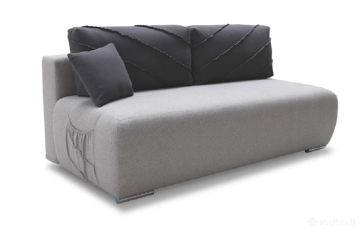Sofa Diego su miegamu mechanizmu ir patalynės dėže