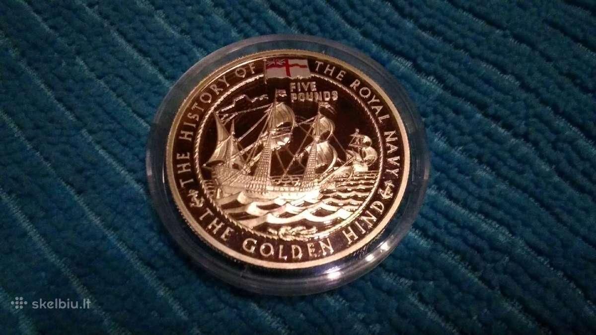 Guernsey 2003 m. 5 pounds sidabras