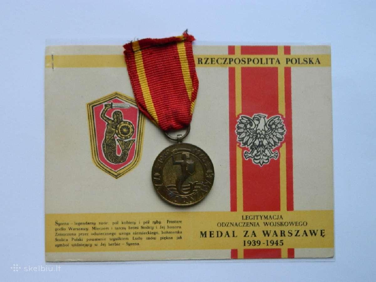 Apdovanojimas uz Varsuva su dok.