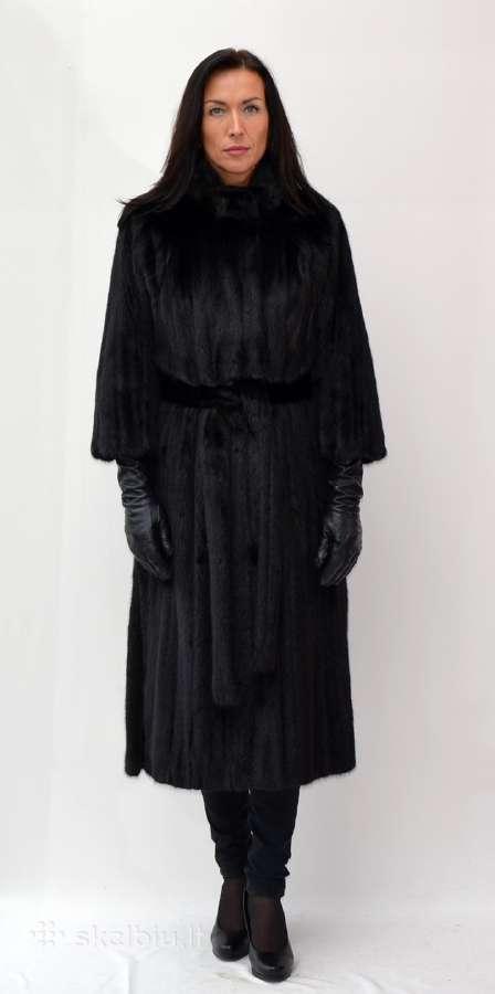 Istisines audines kailiniai juodos spalvos