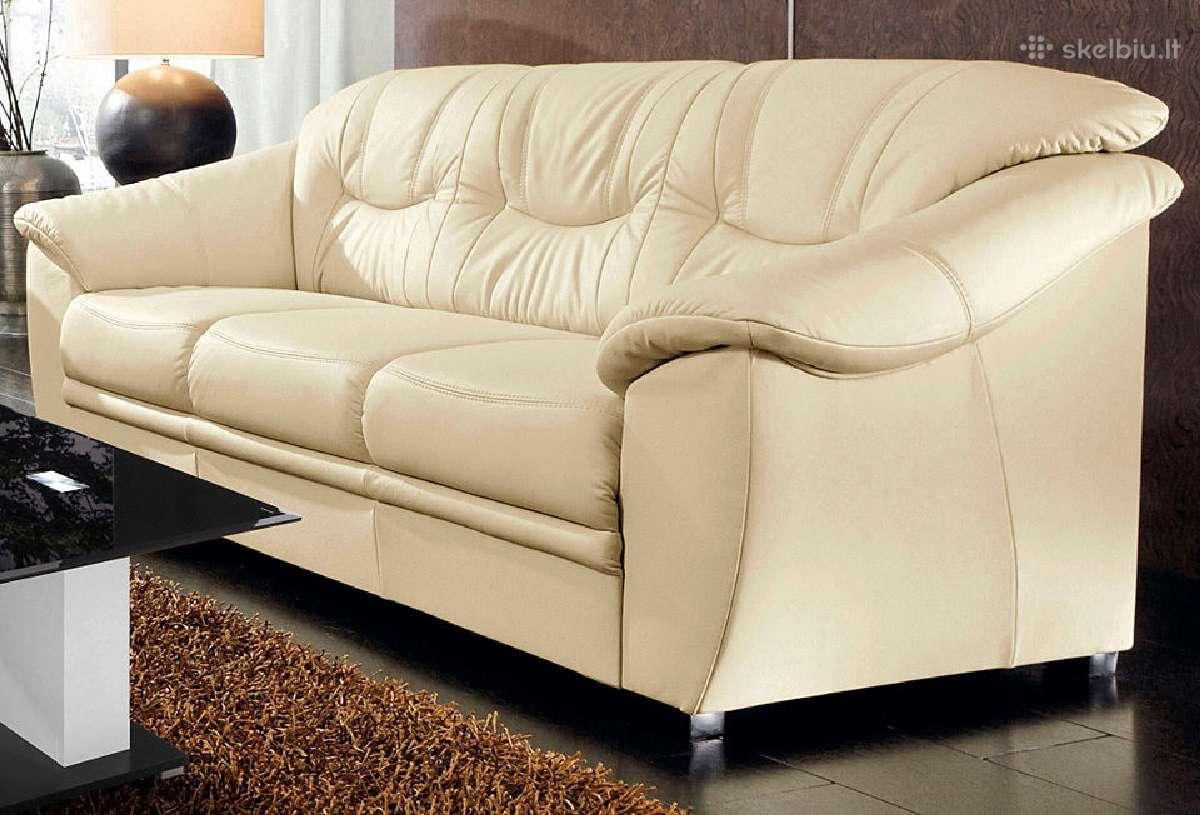 Naturalios odos sofa- lova savona - Skelbiu.lt