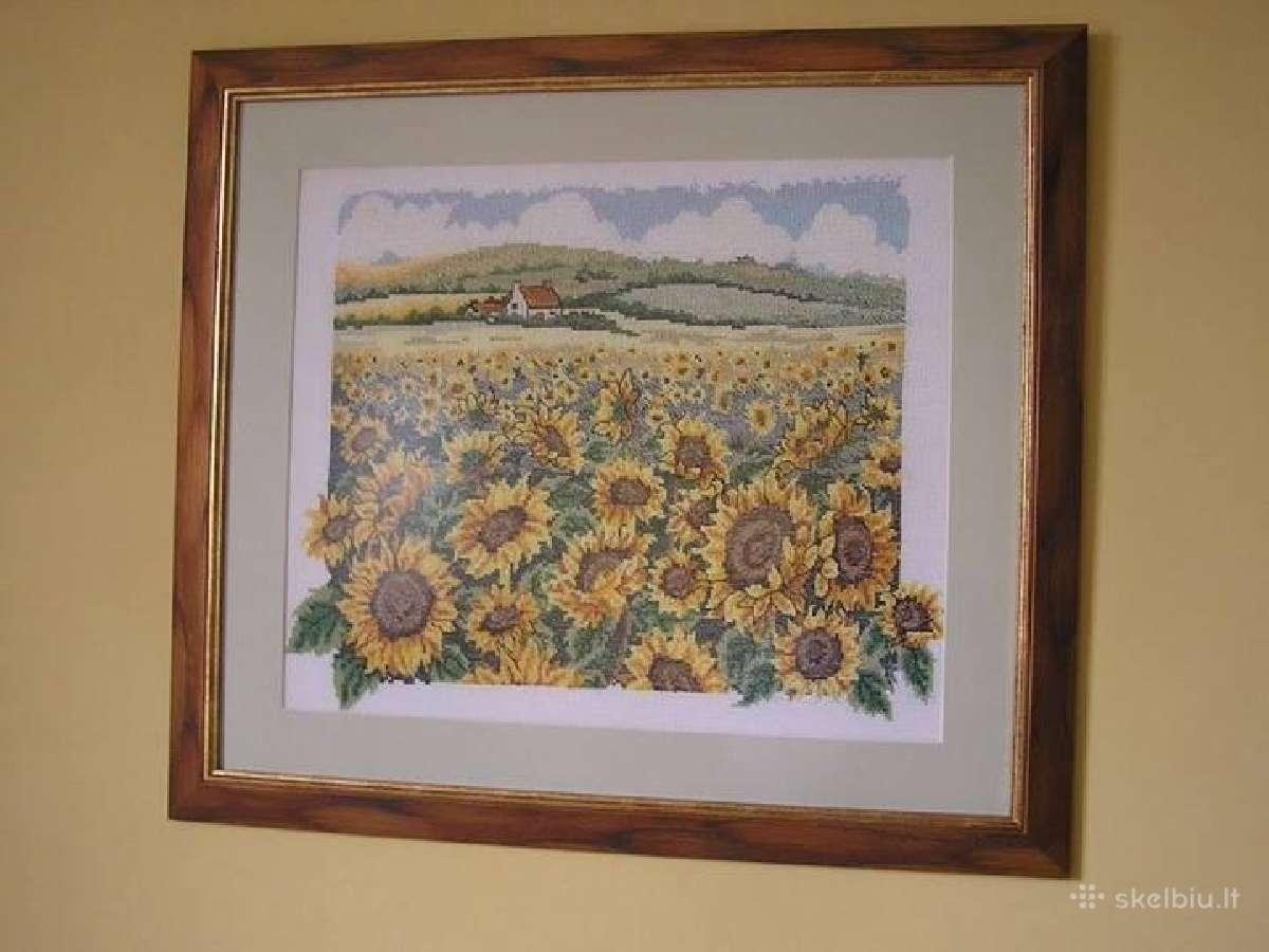 Parduodu kryželiu siuvinėtus paveikslus