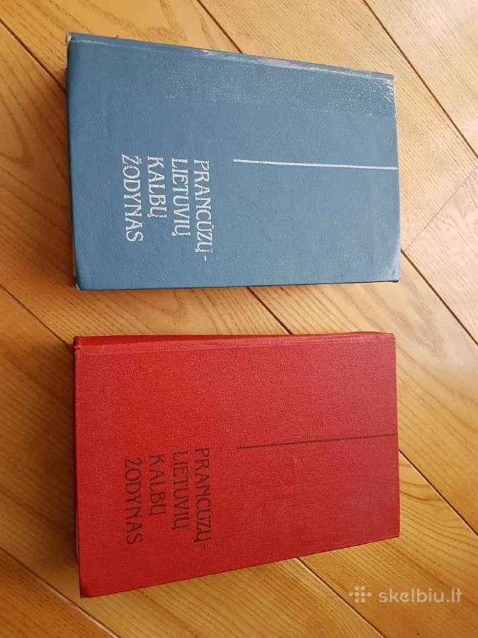 Žodynas prancūzų-lietuvių kalbų