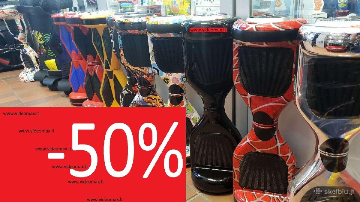 """Išpardavimas 7"""" Riedis Hoverboard -50%"""