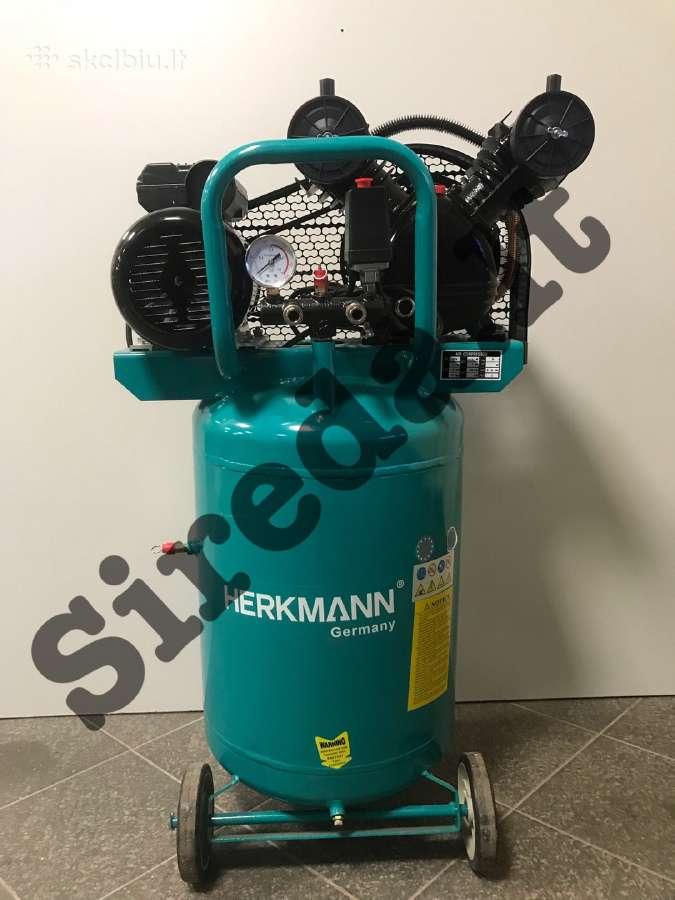 Vertikalus oro kompresorius Herkmann 2c70l - Skelbiu.lt