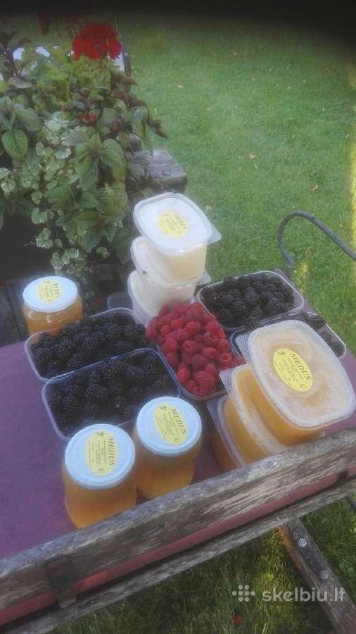 Naturalus lietuviškas medus