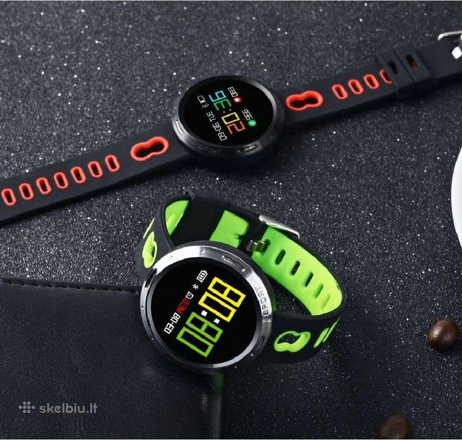 Laikrodis su kraujospūdžio ir pulso matavimu