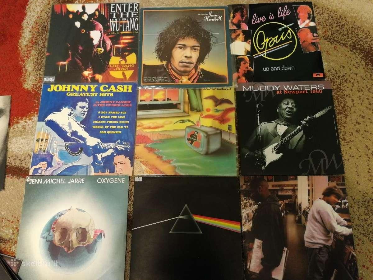Parduodu įvairius vinylus