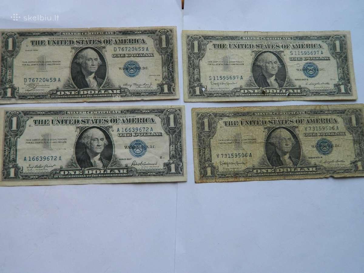 1 doleris 1935,1957 m.