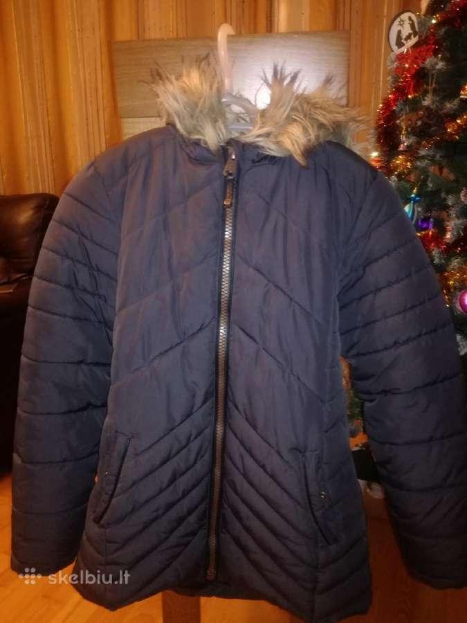 Geros būklės žieminė striukė mergaitei
