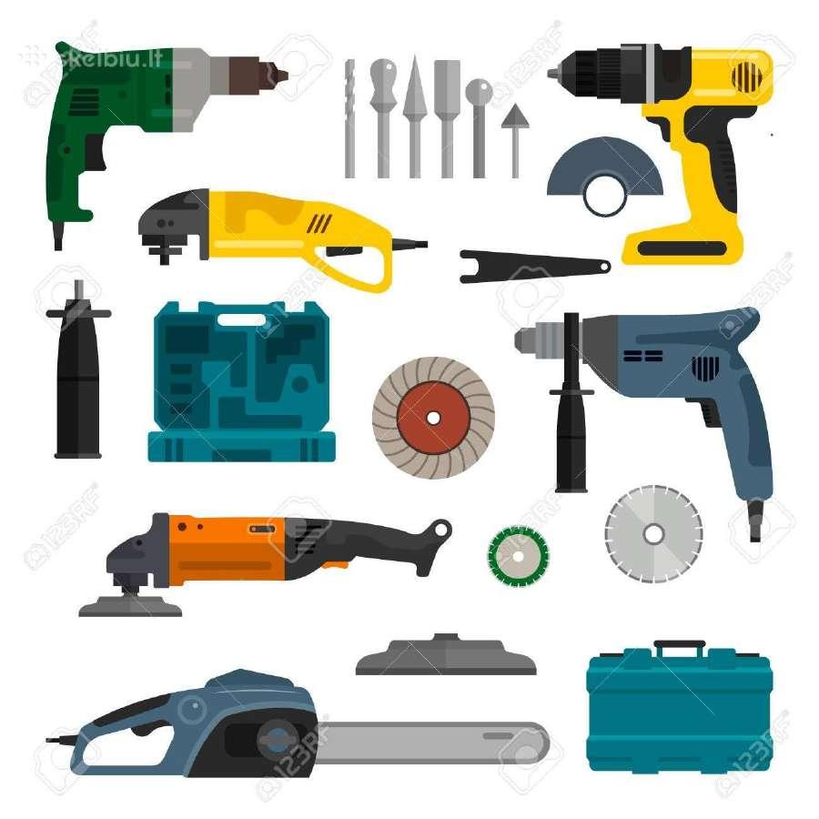Elektrinių įrankių remontas