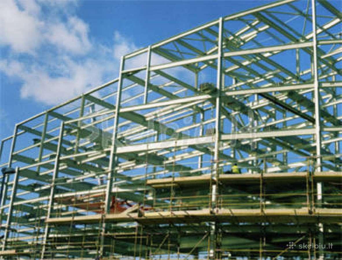 Metalinių konstrukcijų ugniaatsparinimas