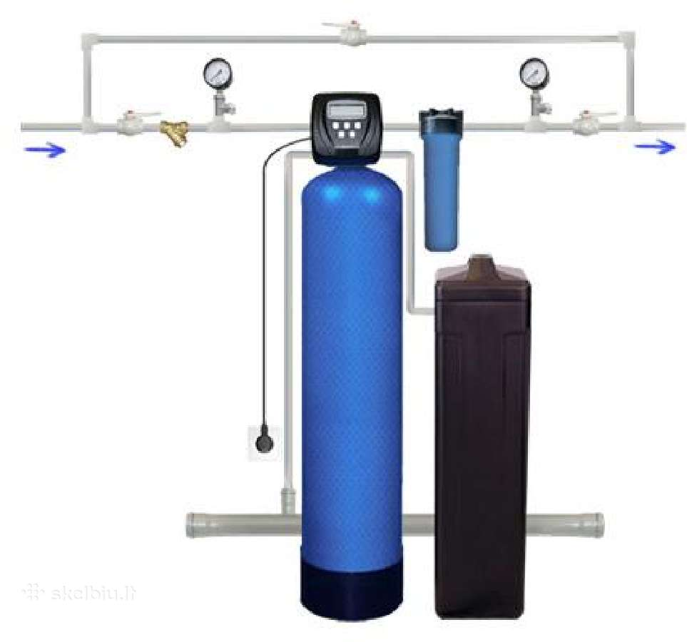 Vandens filtrai. vandens minkštinimo filtras