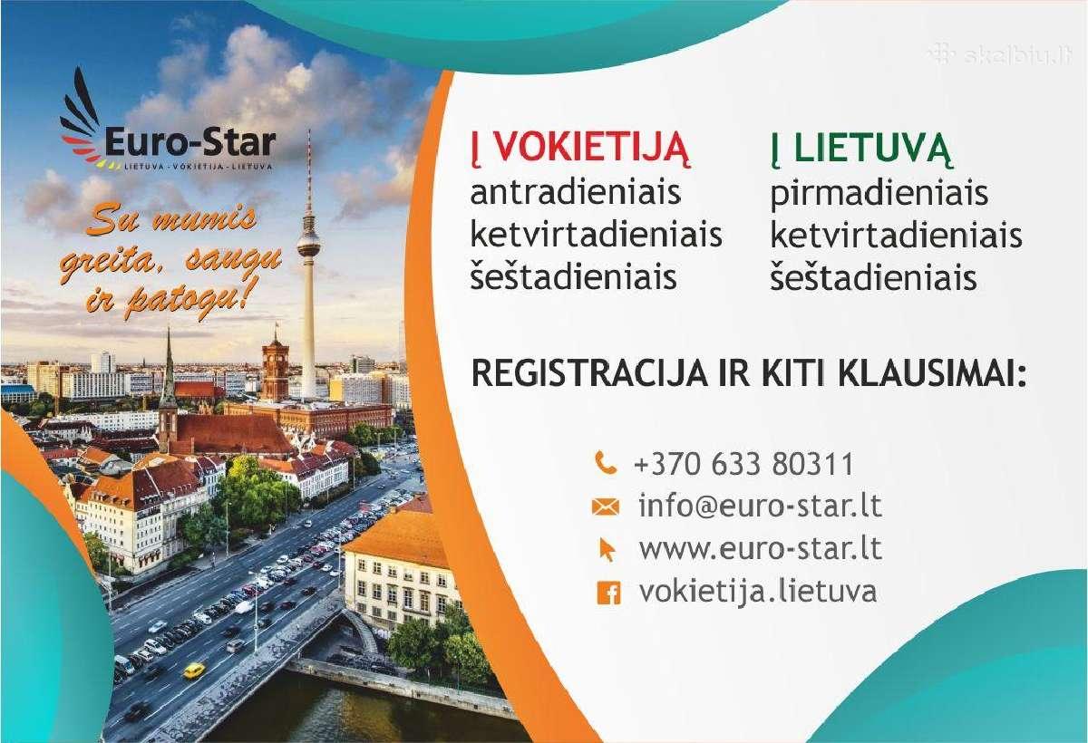 Reguliariai vykstame į Vokietiją ir į Lietuvą