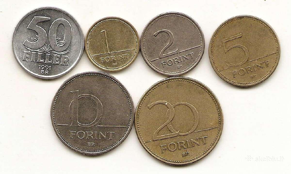 Vengrijos monetu rinkinukas