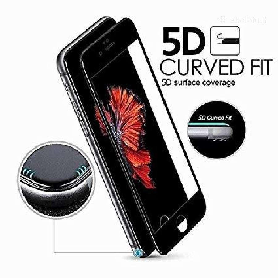 5D stikliukai telefonams