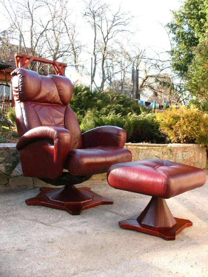 //Poilsio Akumuliatorinis Relax fotelis-kreslas//