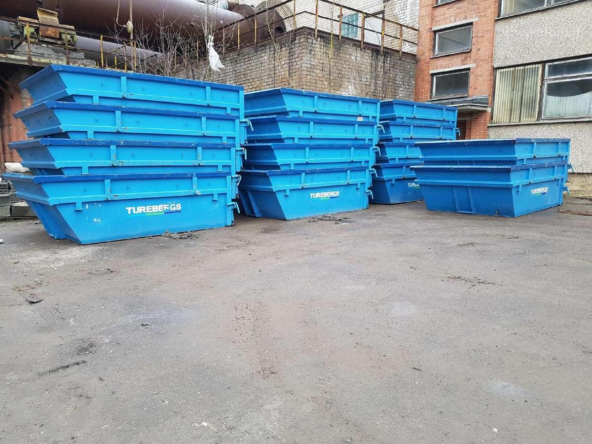 Nuomojami konteineriai statybinem atliekom mesti