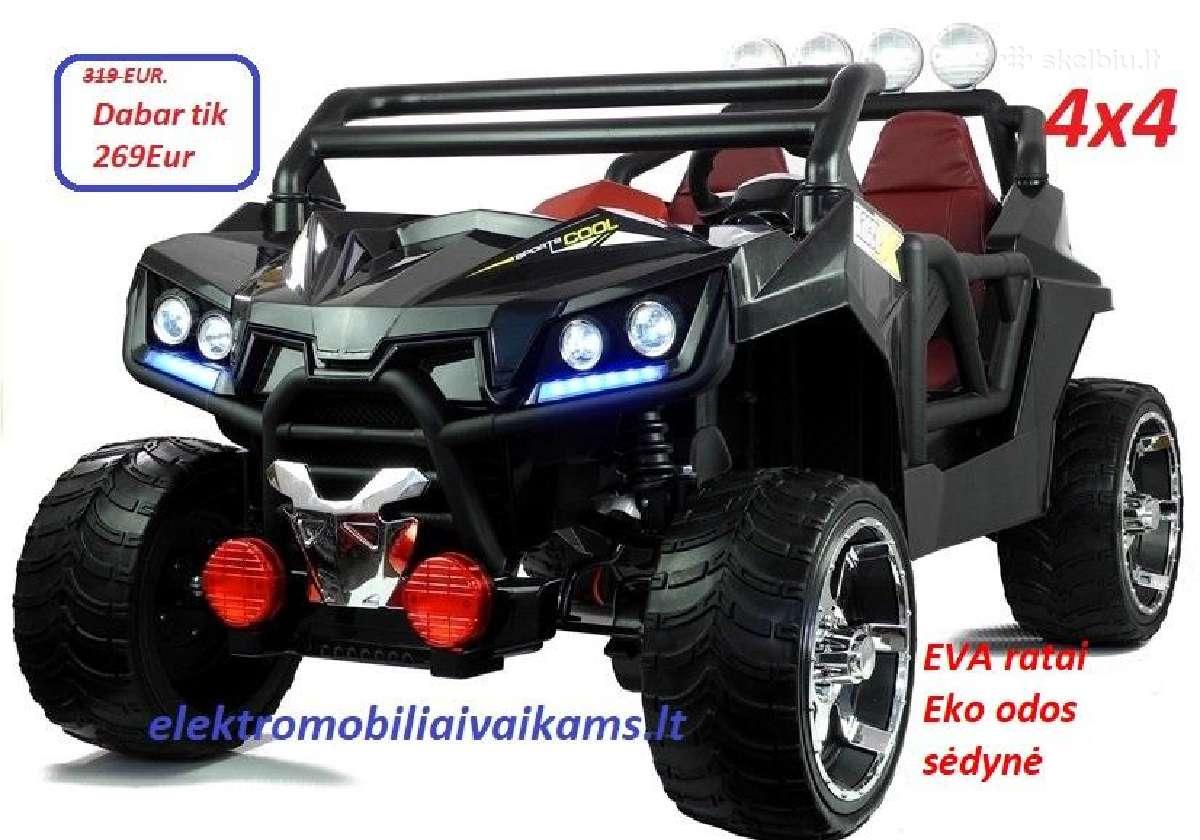 Elektromobiliai vaikams 4x4 nuo 269eur.