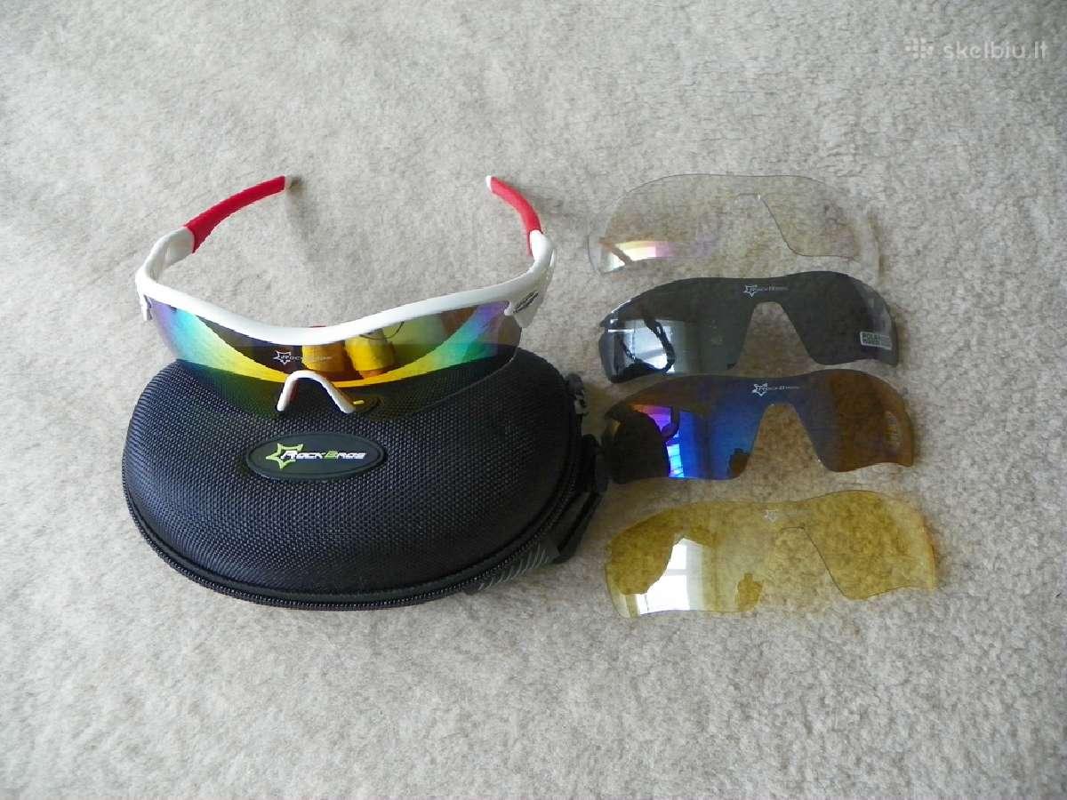 Poliarizuoti dviratininko sporto žvejo akiniai