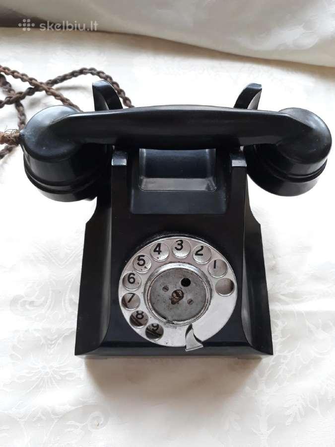Senovinis telefonas Atm