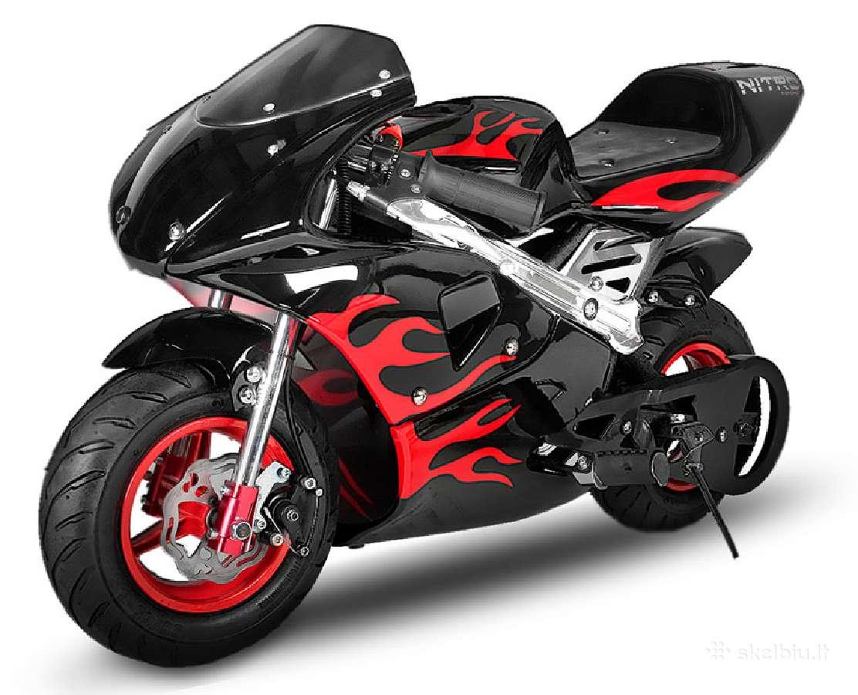 Nauji mini bike / mini motociklai Kmoto
