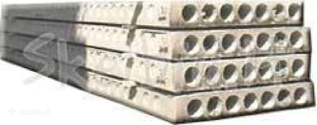 Naujos perdengimo plokštės ir pamatų blokai